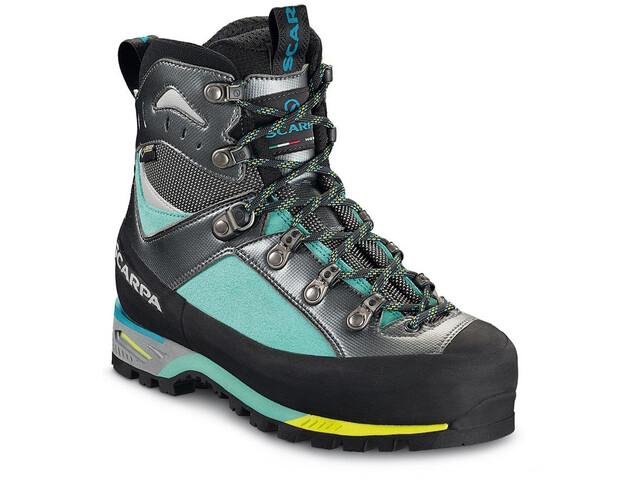 Scarpa Triolet GTX Boots Women green blue